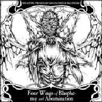 Pseudogod - Four Wings of Blasphemy and Abomination (Split)