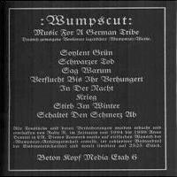 Wumpscut - Music For A German Tribe